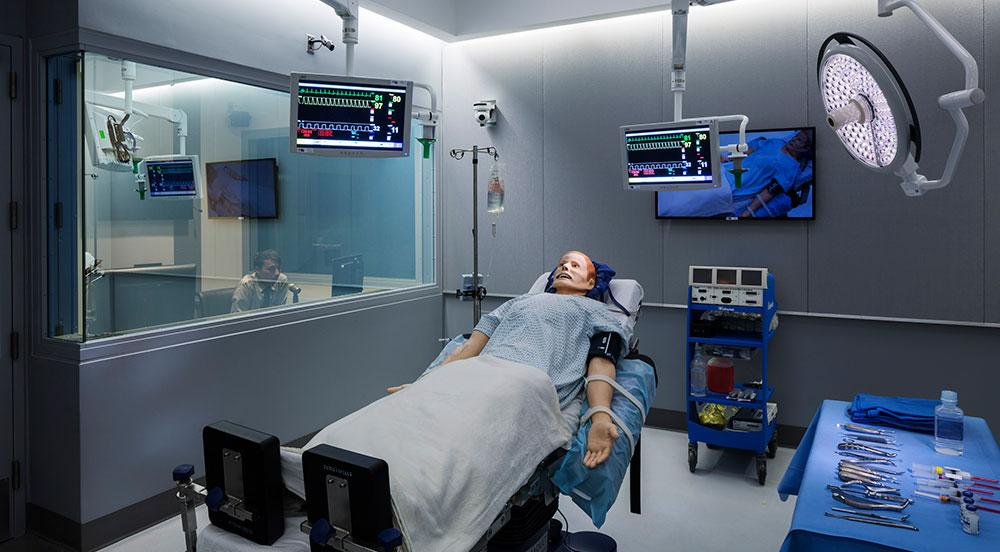The Simulation Operating Room (OR) Is 350 Square Feet And Designed To  Immerse Participants In A High Fidelity Environment. The Room Can Be  Customized To Fit ...