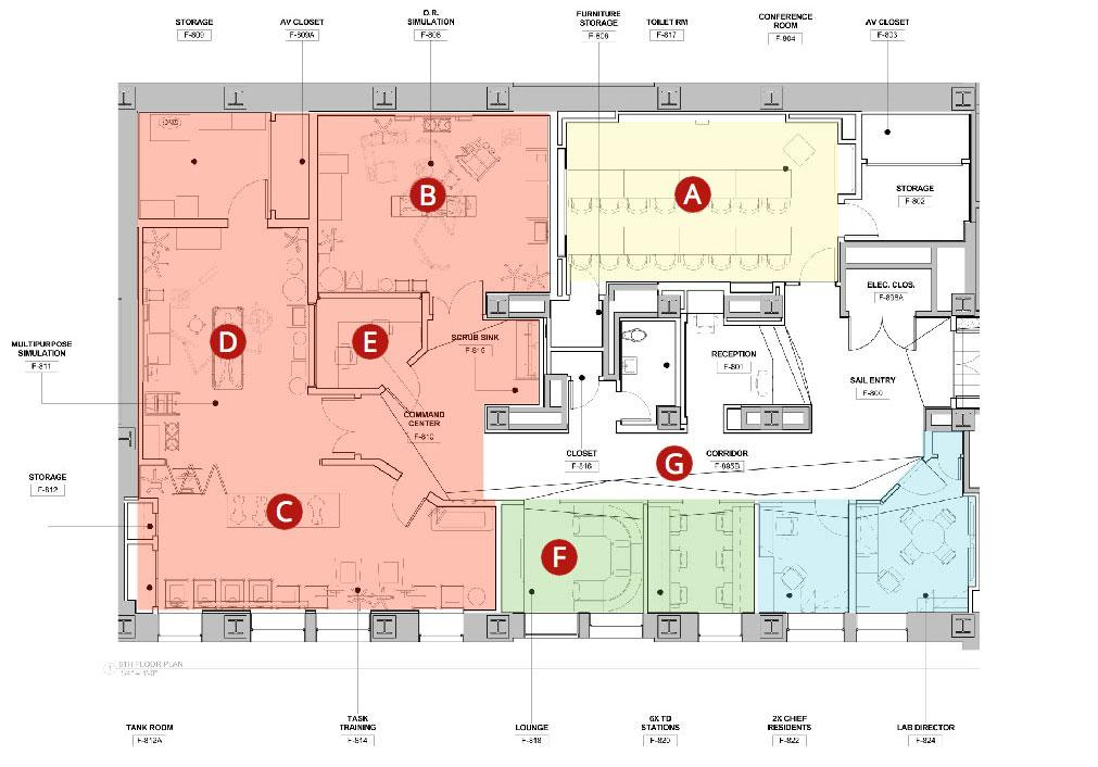 SAIL Floor plan